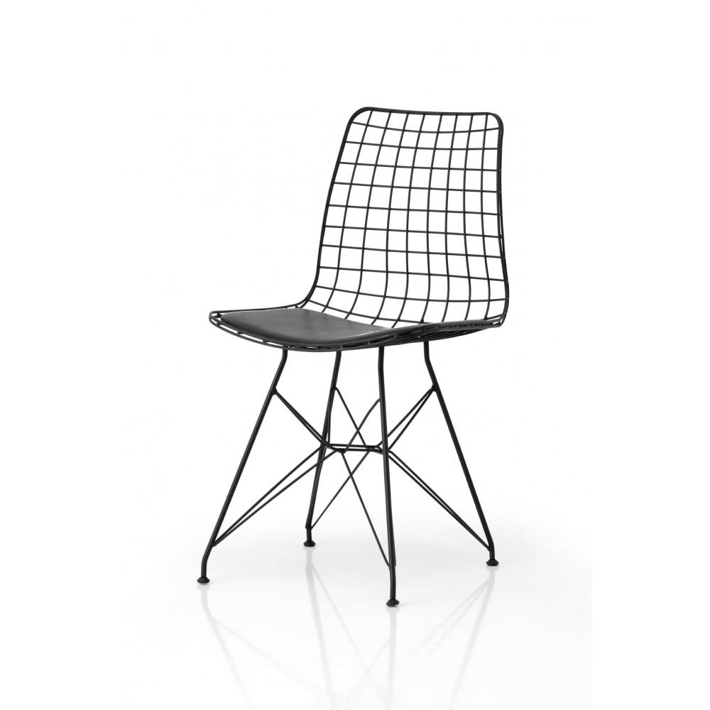 oskar metal sandalye. Black Bedroom Furniture Sets. Home Design Ideas