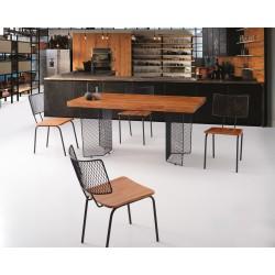 Natura Bold 165 Table Brooklyn Chair