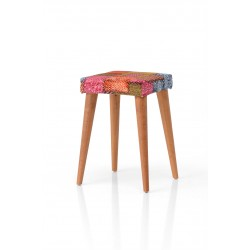 Retro Wood Stool