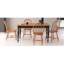 Cottage Table Aramis Ahşap Chaır