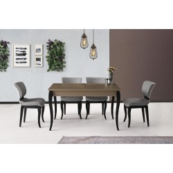 Enzo Table Cavalli Chair