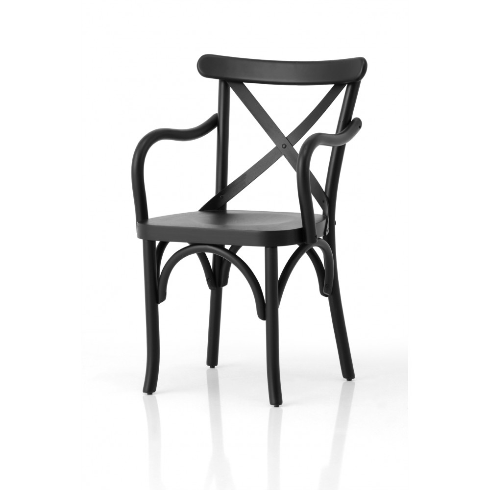 Marsilya Wood Armchair